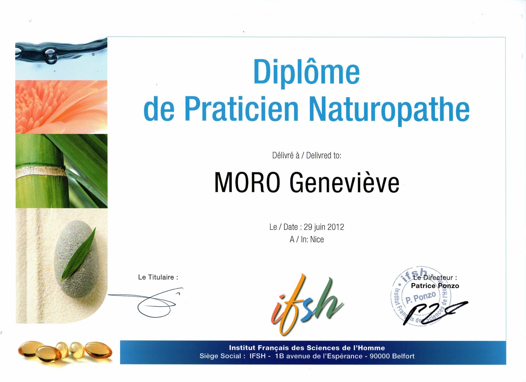 Diplome Naturopathie (2)